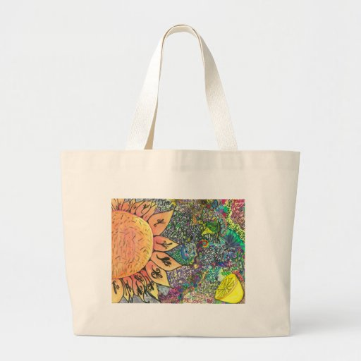 pictures jumbo tote bag