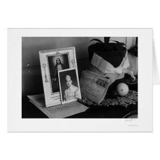 Pictures & Mementoes, Phonograph Top, Yonemitsu Card