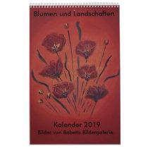 Pictures of Babetts art gallery Calendar