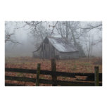 Pictures of barns poster