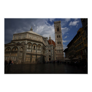 Pictures of Florence Duomo Poster