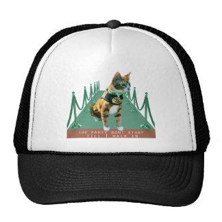 Pictures of my Cat Frasier Trucker Hat