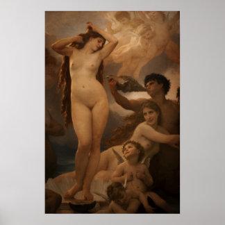 Pictures of Paris Bouguerea s Venus Poster