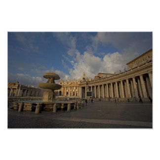 Pictures of Rome St Peter s Square View Poster