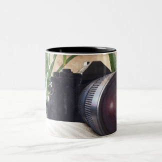 Pictures of The Past Two-Tone Coffee Mug