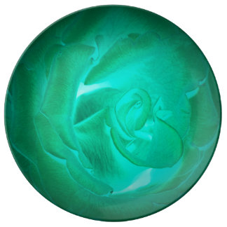 pictures of turquoise roses, imitation glow plate