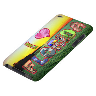 Picturesque and Colorful  I *Heart* Florida Cover Barely There iPod Cases