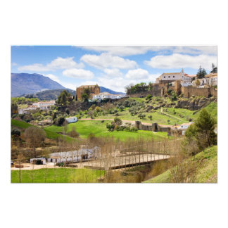 Picturesque Andalusia Landscape in Spain Photo