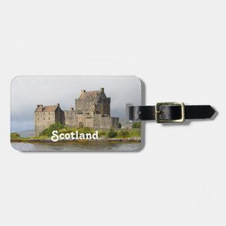Picturesque Eilean Donan Castle Bag Tag