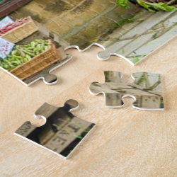 Picturesque English Country Fruit and Veg Shop Jigsaw Puzzles