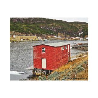 Picturesque Fishing Village Canvas Print