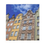Picturesque Gdansk, Poland Memo Pads