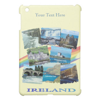 PICTURESQUE IRELAND COLLAGE - Eight Scenic Designs Cover For The iPad Mini