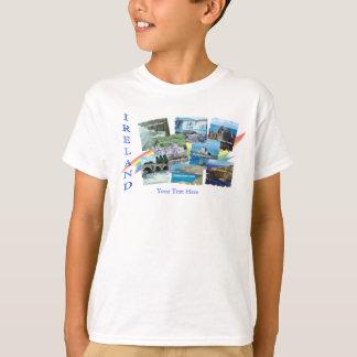 PICTURESQUE IRELAND COLLAGE - Eight Scenic Designs T-Shirt