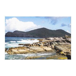 Picturesque Ireland - Kerry Coastline Canvas Print