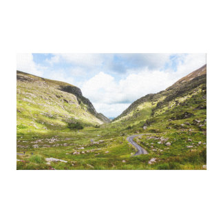 Picturesque Ireland - Rolling Hills Wrapped Canvas Canvas Print