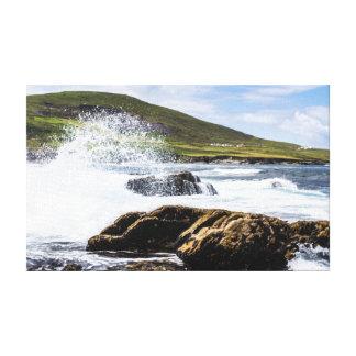 Picturesque Ireland - Wild Irish Coastline Canvas