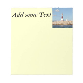 Picturesque Lighthouse in the Caribbean Notepad