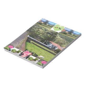 Picturesque Lucky Clover Cottage Photo Notepad