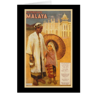 Picturesque Malaya Greeting Card