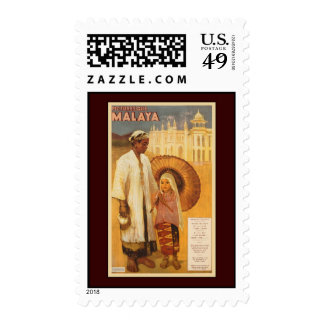 Picturesque Malaya Postage Stamps