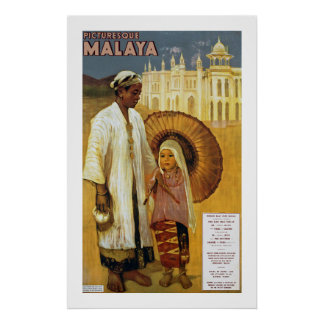 Picturesque Malaya Poster