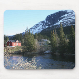Picturesque Norway Mouse Pad