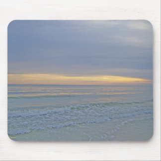 Picturesque Sunset on the Beach Mouse Pad