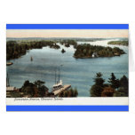 Picturesque Thousand Islands NY 1907 Vintage Greeting Card