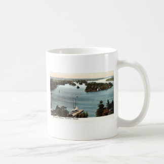 Picturesque Thousand Islands NY 1907 Vintage Classic White Coffee Mug