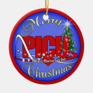 PICU CHRISTMAS ORNAMENT PEDIATRIC INTENSIVE CARE