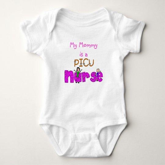 PICU Nurse Gifts Baby Bodysuit