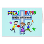 PICU Nurse Gifts Greeting Cards