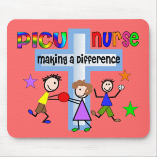 PICU Nurse Gifts Mouse Pad