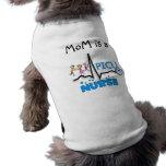 PICU Nurse Gifts-QRS Segment and Kids Design Pet T Shirt