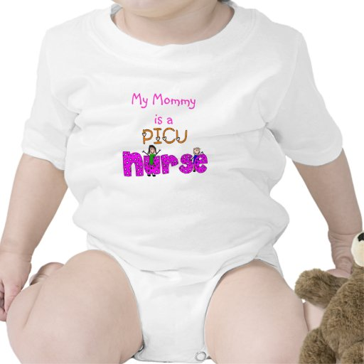 PICU Nurse Gifts Tee Shirt