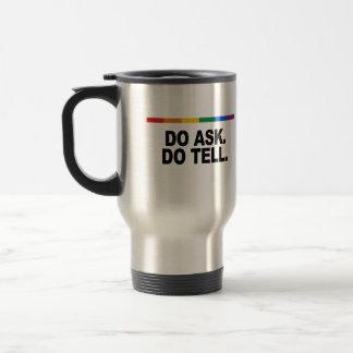 Pida dicen tazas de café