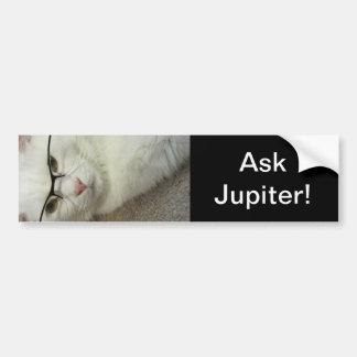 ¡Pida Júpiter! ¡pegatina para el parachoques! Pegatina De Parachoque