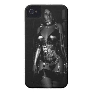 Pida la caja intrépida de Blackberry de la Carcasa Para iPhone 4 De Case-Mate