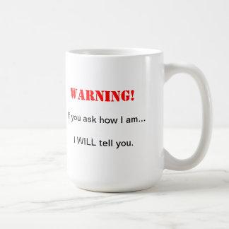 Pida que asalte taza