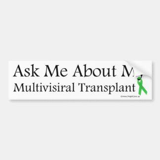 Pídame Multivisiral Pegatina Para Auto