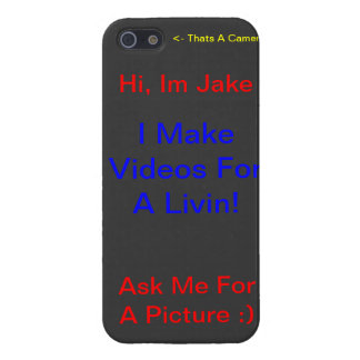 ¡Pídame una imagen! Caso de IPhone iPhone 5 Fundas