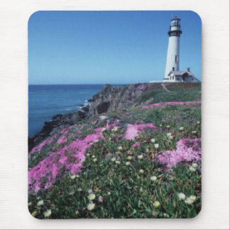 Pidgeon point lighthouse mouse pad