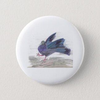 Pidgie Pigeon of the Pidgie Fund Button