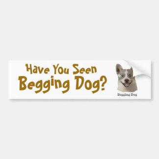 Pidiendo el perro con el texto - productos de Mult Pegatina Para Auto