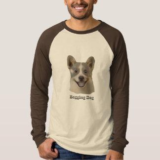 Pidiendo el perro con el texto - productos de Mult Remera