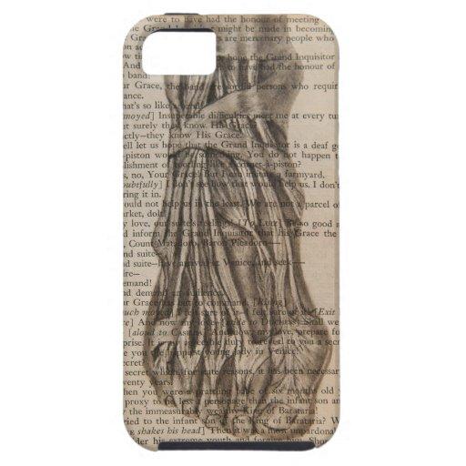 pie anatómico iPhone 5 Case-Mate protectores