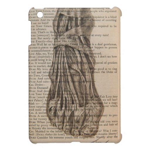 pie anatómico iPad mini carcasa