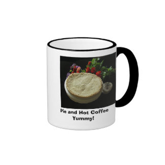 Pie and Hot CoffeeYummy! Mug
