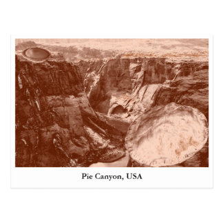 Pie Canyon postcard